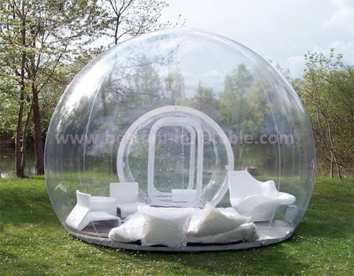 New year inflatable snow bubble decorations