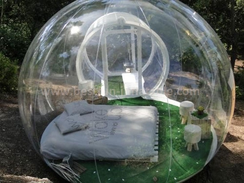Perfect night club lighting inflatable bubble tent for sale