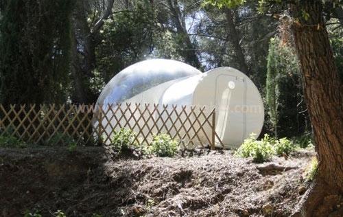 PVC portable inflatable transparent bubble tent