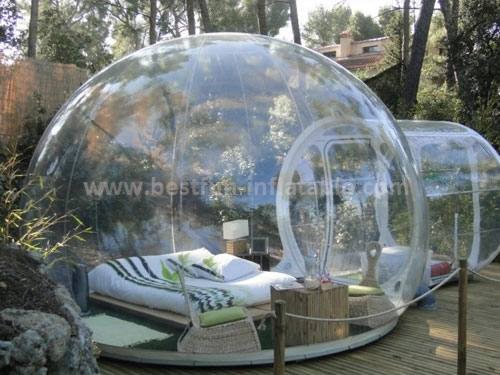 High quality clear inflatable lawn tent