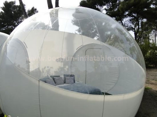 PVC tarpaulin ceative clear inflatable lawn tent