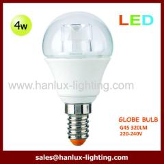 4W G45 320lm globe bulb