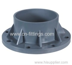 upvc TS flange pipe fitting within pn10