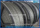 13mm Anti twisted Braided Steel Wire Rope Six Squares Twelve Strands transmission Line Stringing
