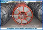 28mm 480kN 12 Strands Anti twisted Galvanized Braided Steel Wire Rope Overhead Conductor Stringing