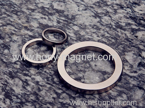 Natural material sintered ring strong magnets