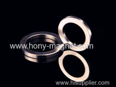 Ni coating ndfeb motor rotor magnet ring