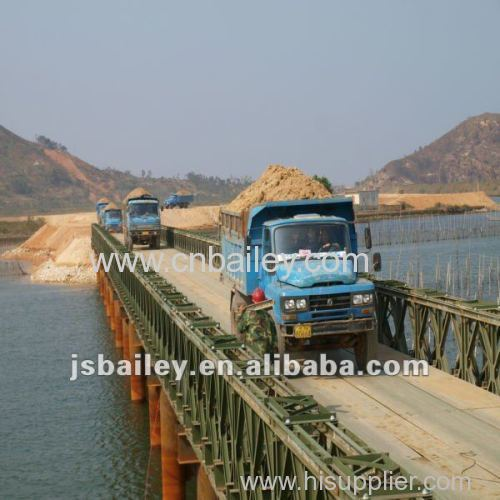 Portable Bailey Steel bridge