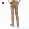 100% Mens Non-iron comfortable casual pants/Wash and wear mens trousers