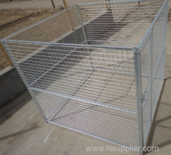 Fully Galvanizing Welded Mesh Dog Wire Kennel