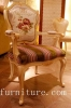 Dining Chair Antique Chairs Popular in Russia Fabric Chair Dining Room Furniture