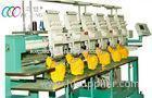 Commercial Tubular Embroidery Machine With Multi-language Operating Interface , 6 Heads