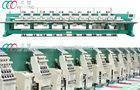 Commercial Mixed Flat 18 Head Chenille Embroidery Machine with Dahao Servo Motor