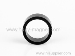 Black epoxy bonded neodymium small round magnet