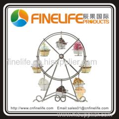 Ferris wheel display cupcake stand