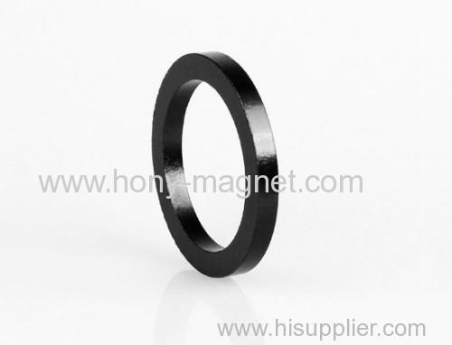 Strong big ring ndfeb magnet
