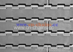 1400 modular conveyor belt flat friction top Food grade material