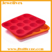 New ideas silicone ice cube pudding mold