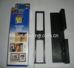 Home level tool measure mark Hang Rite as seen on TV