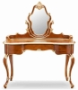 Dressing table dressers with mirror wooden table bedroom furniture itlian style