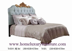 Queen bed king bed luxury bedroom classical bed Italy style bed bed price supplier
