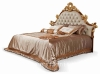 Beds classic bed king bed royal luxury bed solid wood bed supplier Italy style