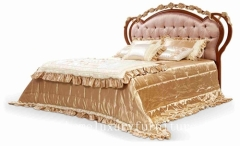 Beds neo classical bed king bed royal luxury bed solid wood bed supplier