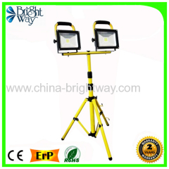 2* 20W LED Flood Light With Tripod