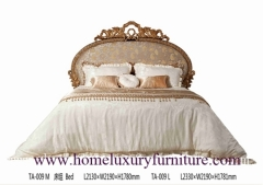 King Beds queen beds solid wood bed supplier Italy style Europe classic bed