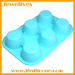 Not faded silicone cake mold