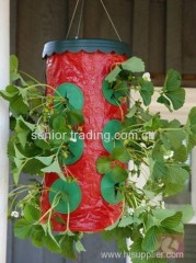 Strawberry planter Plastic garden Topsy turvy planter as seen as on tv