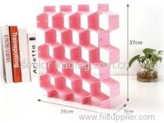 Storage box foldable storage box Cellular drawer grid