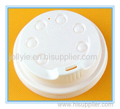 disposable plastic paper cup lid
