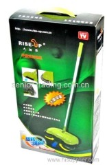 Hand propelled Sweeper manual cleaner household sweeper as seen on tv
