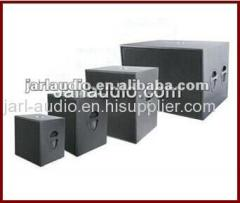 pro audio subwoofer box