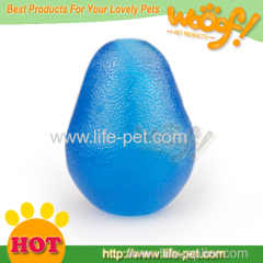 Rubber pet toy for dogs