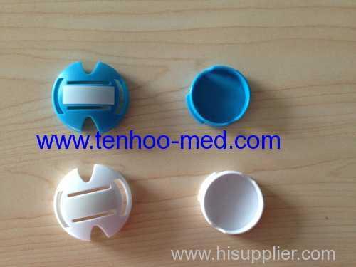 Round stethoscope ID Tag