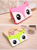 Hot selling Fox shape phone case cover for iPhone 6 and Samsung wholesale Cartoon handbag mobile phone protection shell