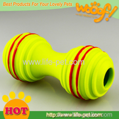 Barbell Shaped Dog Toy