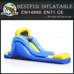 14' Blue Wave Mini Water Slide
