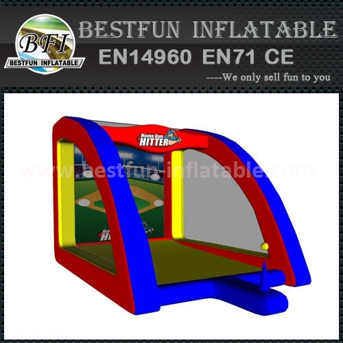 Inflatable Home Run Hitter Game For Sale