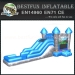 Blue brave knight inflatable combo