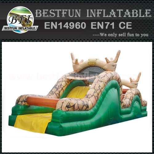 40' Ruins Inflatable Obstacle Course