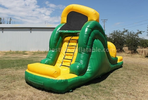 Backyard water slide for party use