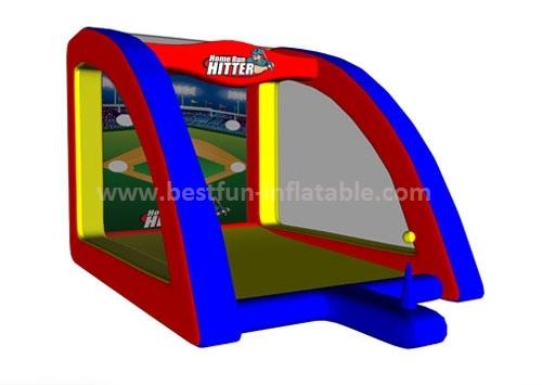 Home Run Hitter inflatable baseball carnival game