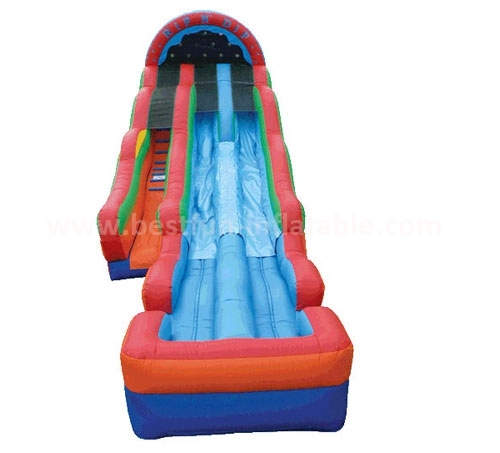 Inflatable Rip N Dip Water Slide with Pool