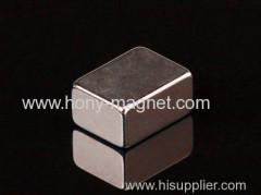 Grade n40 neodymium sintered cube neo magnet