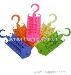 Hot sell multifunctional magic hanger plastic hanger clothes drying rack