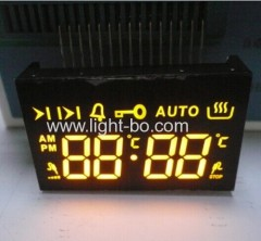 amber oven timer; yellow digital timer;