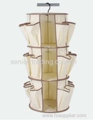 Multipocket hanging container Smart Carousel Organizer as seen on tv